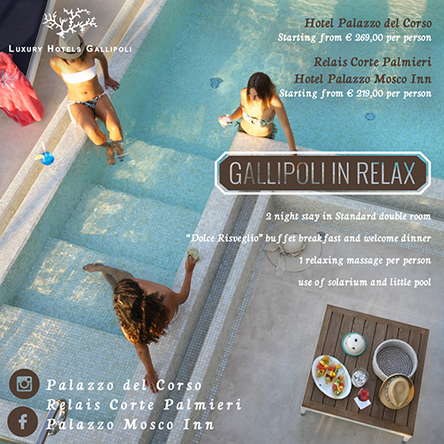 offers gallipoli in relax
